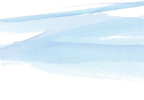 水/清涼/清爽形像水彩手繪背景