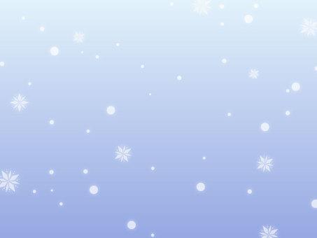 極光般的雪地背景