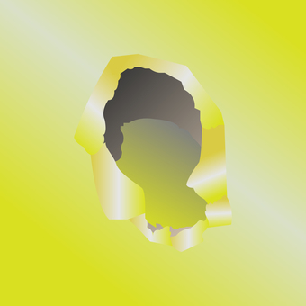 帶孔牆紙(黃色)