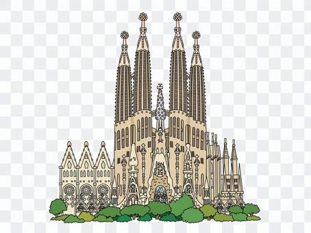 圣家族教堂的大教堂