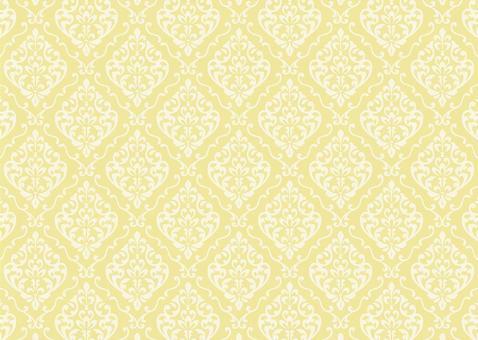 錦緞花紋歐洲黃