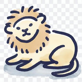Loose lion