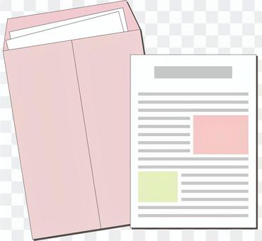 Documents and envelopes
