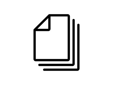Overlapping document / file icons