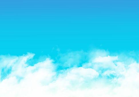 藍藍的天空背景