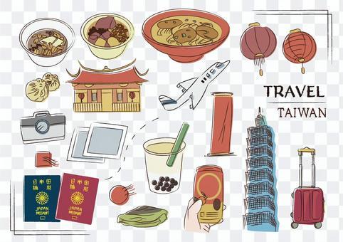 台灣旅行海外台北九份観光中國