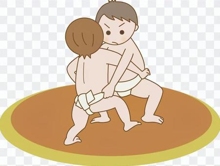 孩子們的相撲