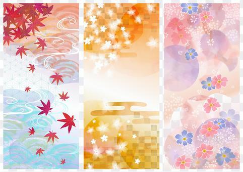 日本圖案素材012背景設置