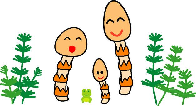 Tsukuru神社的父母和孩子