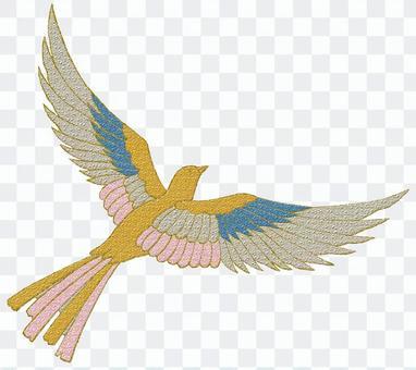 和柄パーツ-鳥