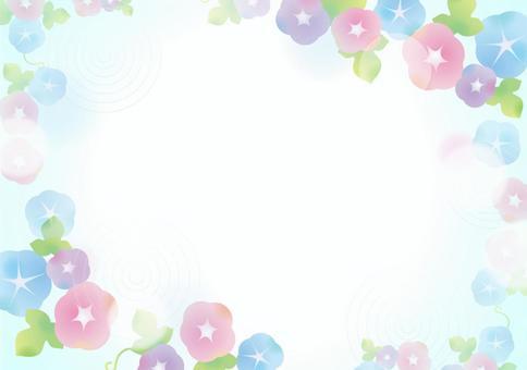 淺色asagao背景1