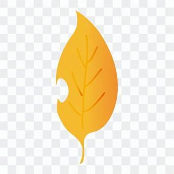 낙엽 (노란색)