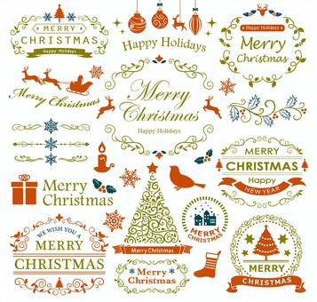 聖誕框架集1