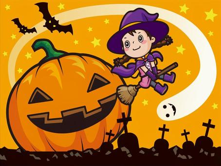 Halloween_魔女