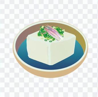 冷豆腐(蔥,姜日)