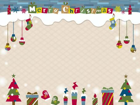聖誕圖案框架_B02