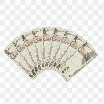 10,000日元的鈔票