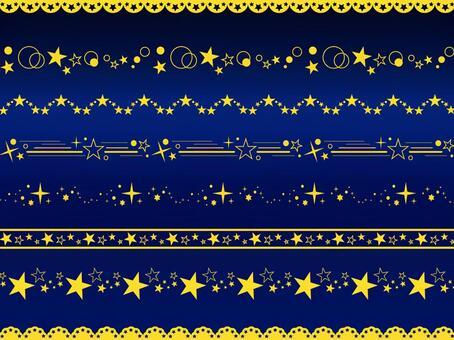 閃閃發光的星線