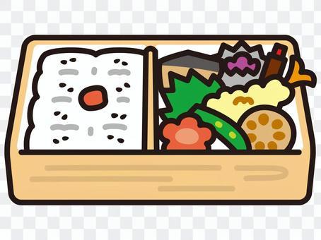 裡面的飯盒