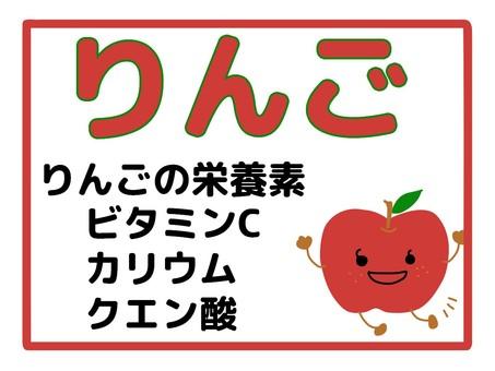 蘋果營養素
