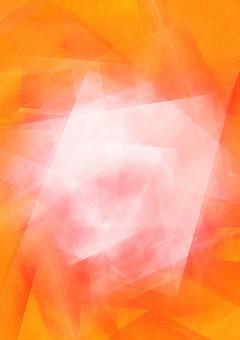 中心が白く輝くオレンジ背景