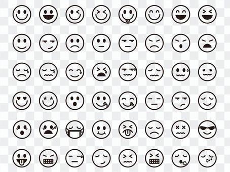 表情符號圖標集