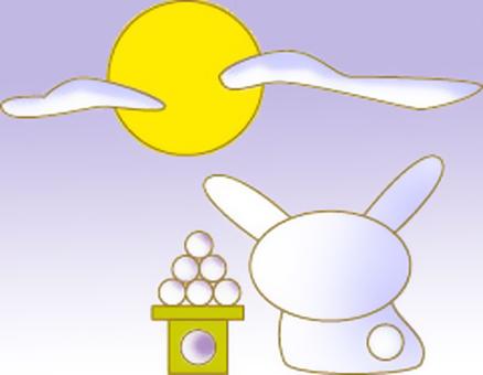 兔子月亮观看