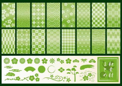 日本材料概要绿色