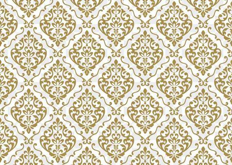 Damask pattern European beige