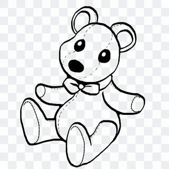 熊毛絨動物