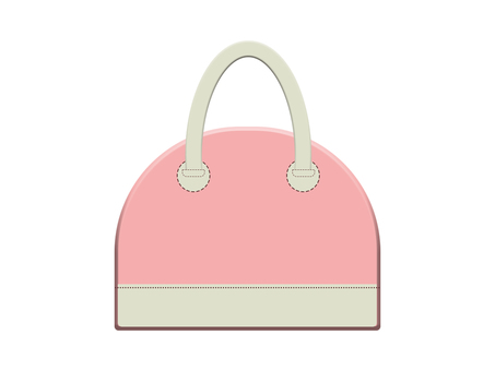Leather bag 12-4 (pink)