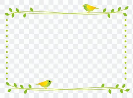 简单的鸟框架