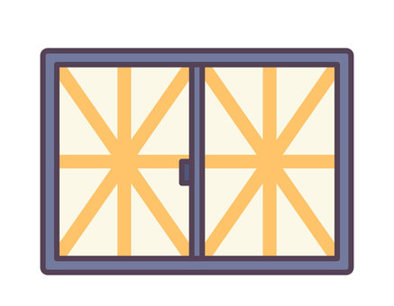 固化膠帶和窗戶