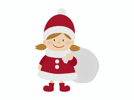 聖誕老人的女孩