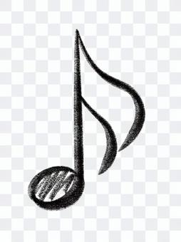 Sixteenth note sign note music