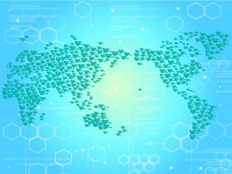 World map_Cyber world
