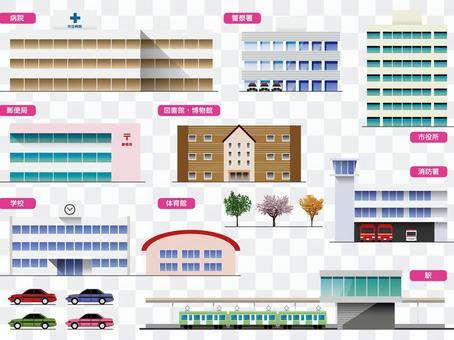 建築物(建築物)公共設施集