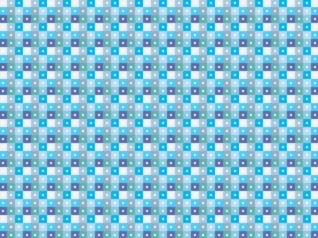 背景方形圖案7_blue