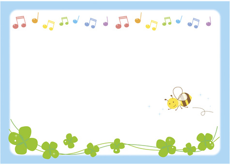 Honey bees and music