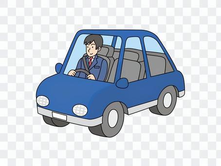 銷售車輛上的員工2