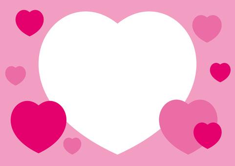 心框粉紅色