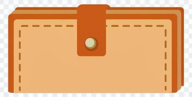 兩個長錢包(棕色
