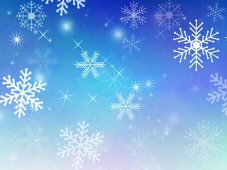 Snow crystal background 2