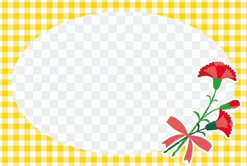 母親節康乃馨框架10