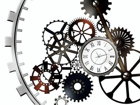 齒輪和手錶