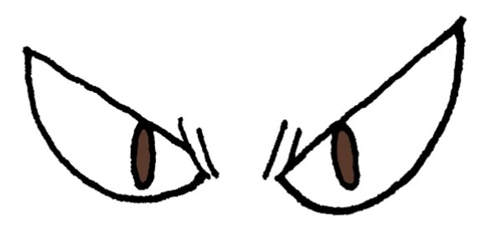 用鋒利的眼睛