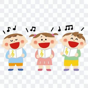 孩子們唱歌