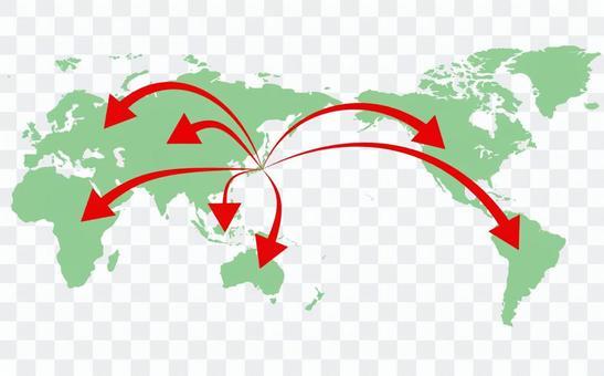 世界地圖①