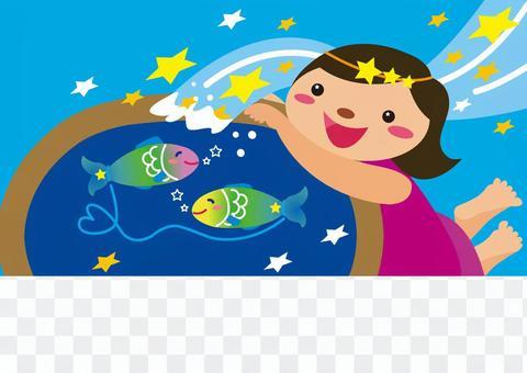 horoscope_ constellation _ Aquarius & amp; Fish Seat