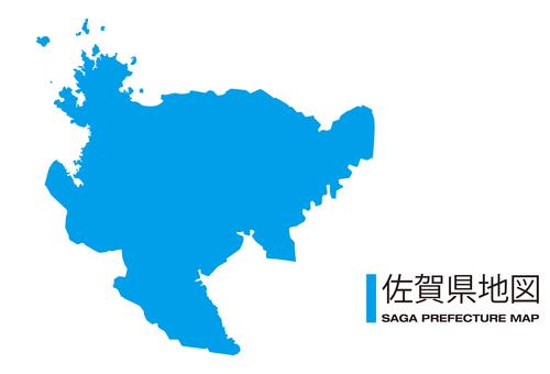 佐賀縣_地圖